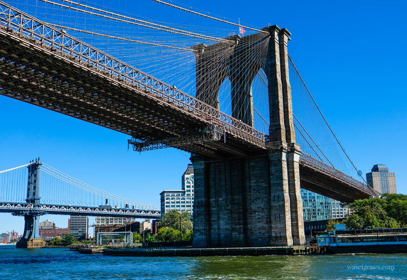 New York City: Brooklyn Bridge | Dumbo | Sightseeing Städtereise | waseigenes.com #brooklynbridge #NYC