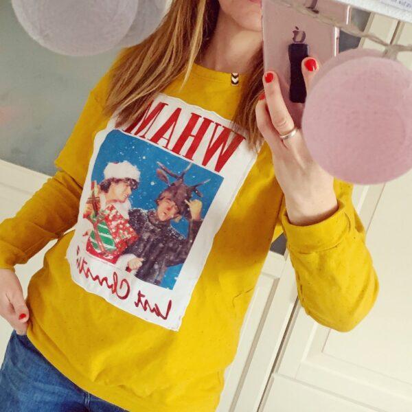 DIY Shirt Last Christmas, waseigenes.com
