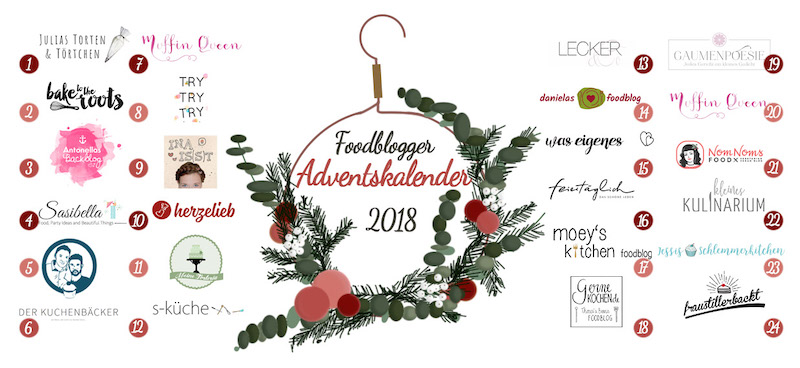 FoodBlogger Adventskalender 2018
