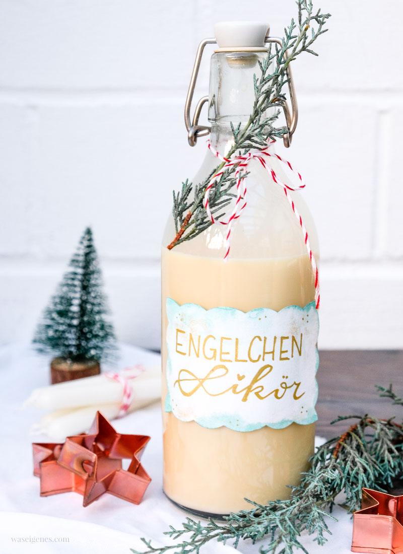 Die helle Freude: Rezept Engelchen Likör | waseigenes.com #engelchenlikör #likörselbermachen