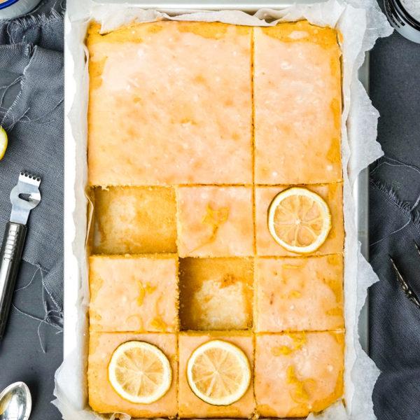 Rezept Zitronenschnitten, Zitronenkuchen, waseigenes.com