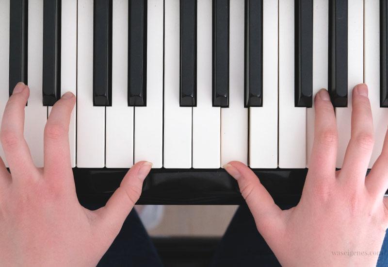 12 von 12 im April 2019 | Mein Tag in Bildern | waseigenes.com | Klavier