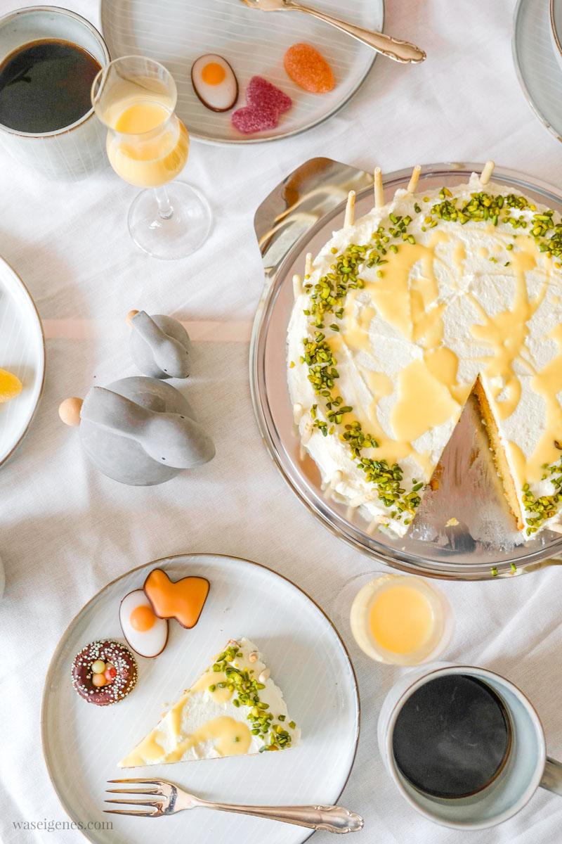 Rezept: Eierlikörkuchen | Nicht nur zu Ostern ein Genuss! #eierlikörkuchen #Kuchenrzept | waseigenes.com