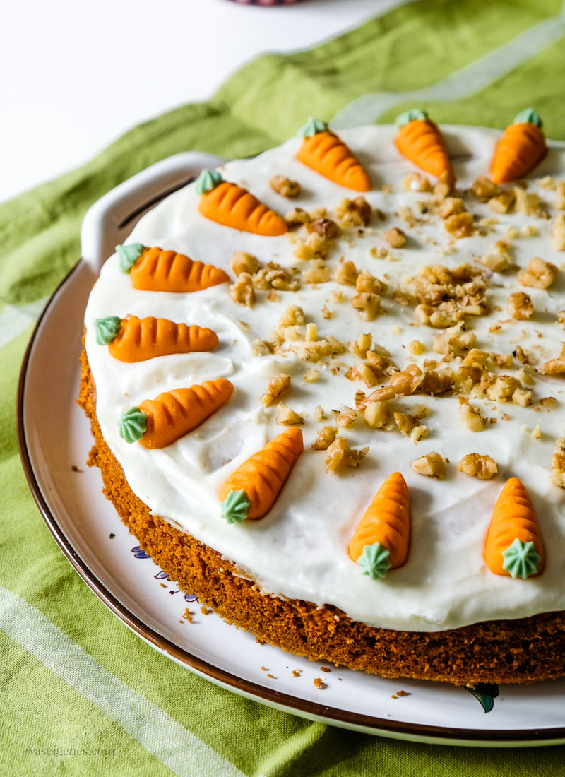 Rezept: Möhrenkuchen | waseigenes.com