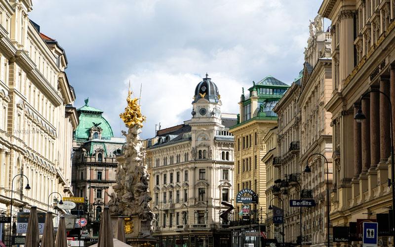 Sightseeing Wochenende: Wien | waseigenes.com | Graben, 1. Bezirk, Pestsäule