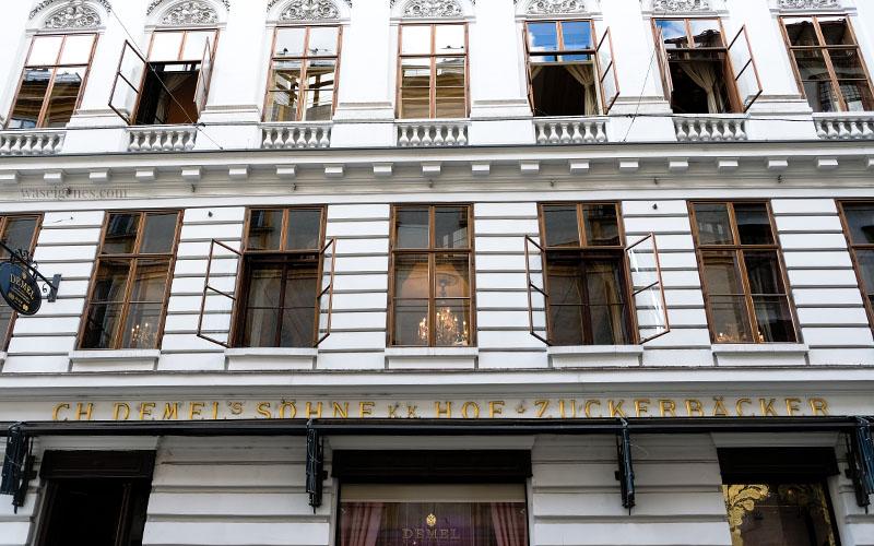 Sightseeing Wochenende: Wien | waseigenes.com | Demel K.u.K. Hofzuckerbäcker Wien