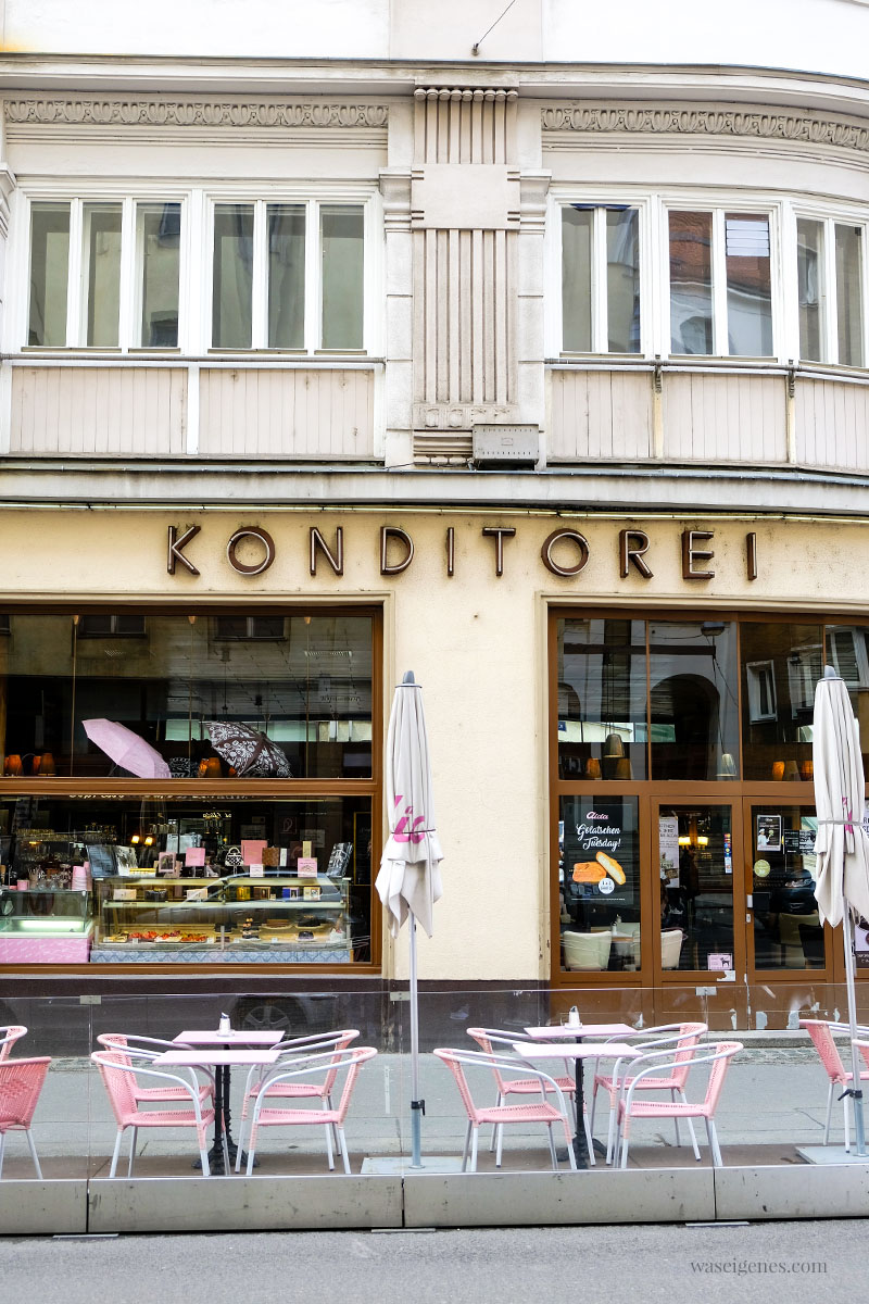 Sightseeing Wochenende: Wien | waseigenes.com | Wollzeile, Aida Prousek & Co Chocolaterie