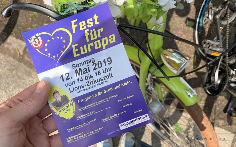 12 von 12 im Mai 2019, Mein Tag in Bildern | waseigenes.com Fest für Europa
