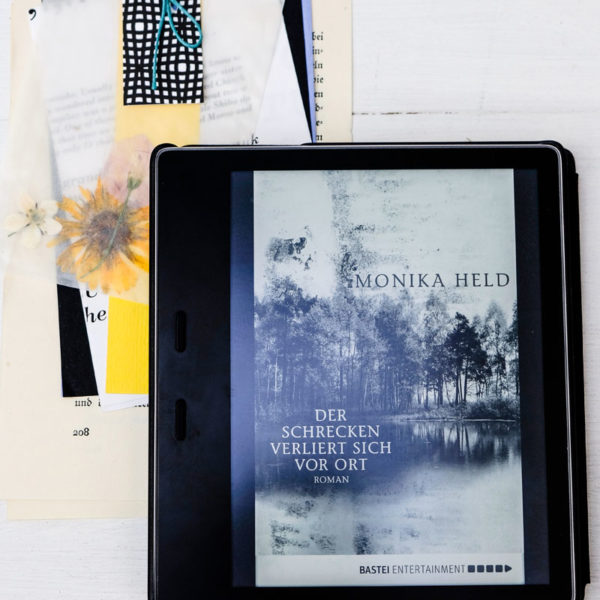 Buchtipp: Der Schrecken verliert sich vor Ort von Monika Held, waseigenes.com