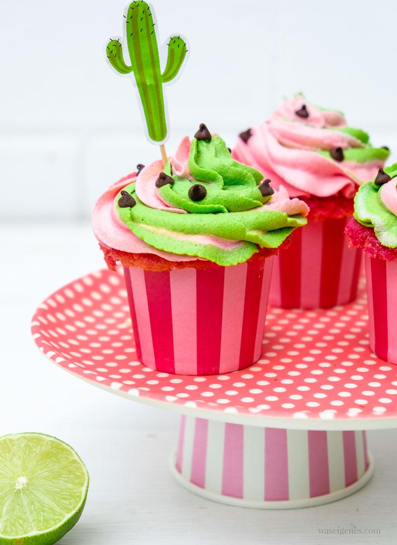 Summer Edition: Bunte Wassermelonen Cupackes; waseigenes.com