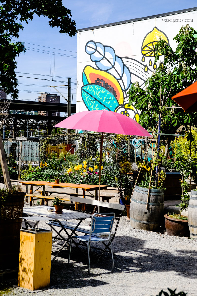 "Open Air Restaurant & Bar:  ""Frau Gerolds Garten"" in Zürich West (Geroldstrasse 23), waseigenes.com"
