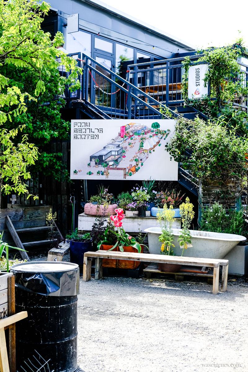 """Urban gardening in Zürich West. Bier- und Stadtgarten """"Frau Gerolds Garten"""" in Zürich West (Gerold Strasse), waseigenes.com"""