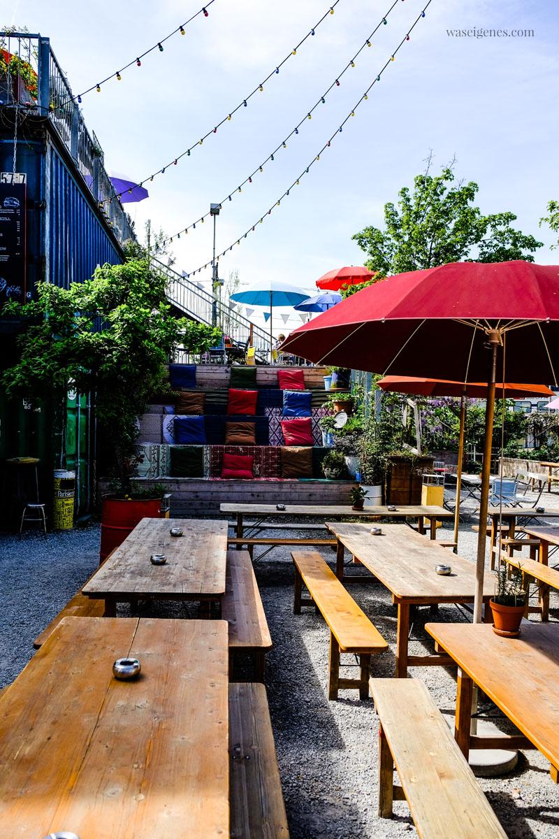 """Sommerterrasse, Biergarten und Bar: """"Frau Gerdolds Garten""""/ Geroldstraße 23, Zürich, waseigenes.com"""