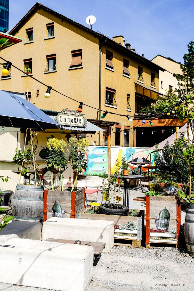 """Cucum Bar in """"Frau Gerolds Garten"""" - Sommerrestaurant und Biergarten in Zürich West, waseigenes.com"""
