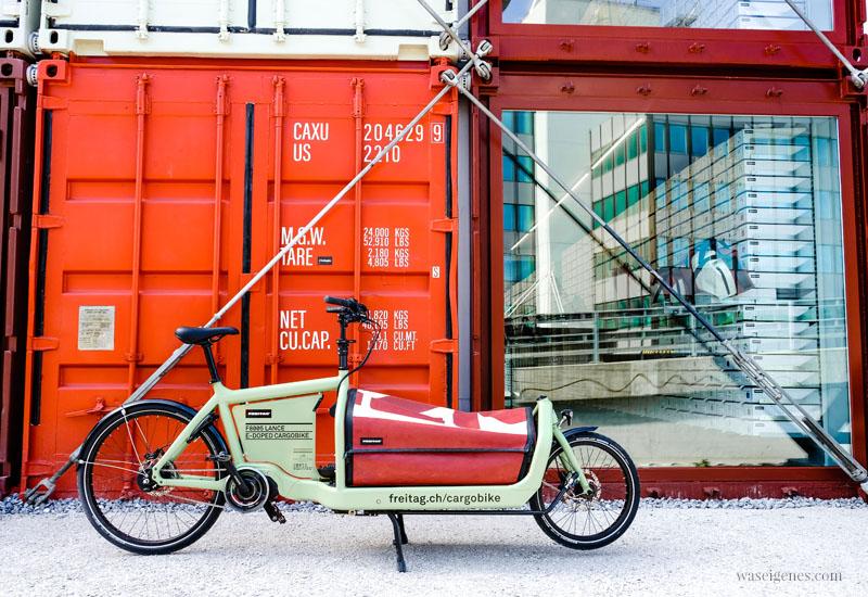 Zürich West: FREITAG Flagship Store in alten Schiffscontainer, Gerold Strasse, waseigenes.com