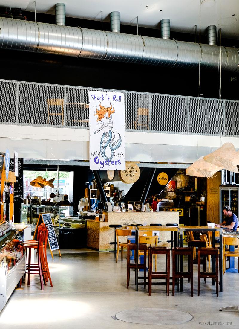 Zürich West: Markthalle Im Viadukt, Oyster, waseigenes.com