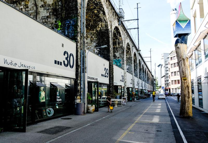Zürich: Viadukt Markthalle, waseigenes.com