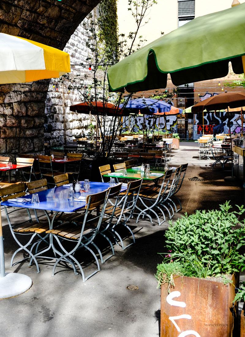 Zürich West: Markthalle & Restaurants Im Viadukt, Limmatstraße 231, waseigenes.com