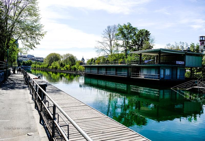 Zürich West, Spaziergang an der Limmat | Kloster-Fahr-Weg, Schwimmbad Obere Letten, waseigenes.com