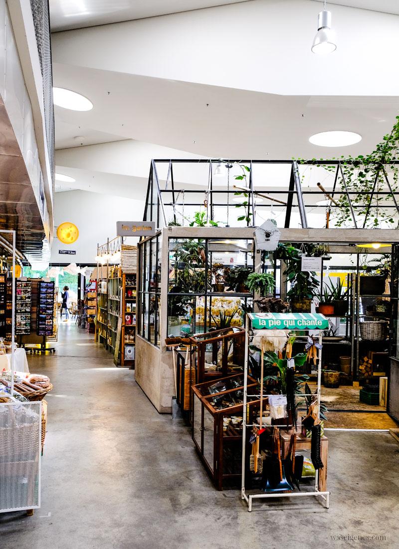 Zürich West: Markthalle Im Viadukt, Im Garten, waseigenes.com