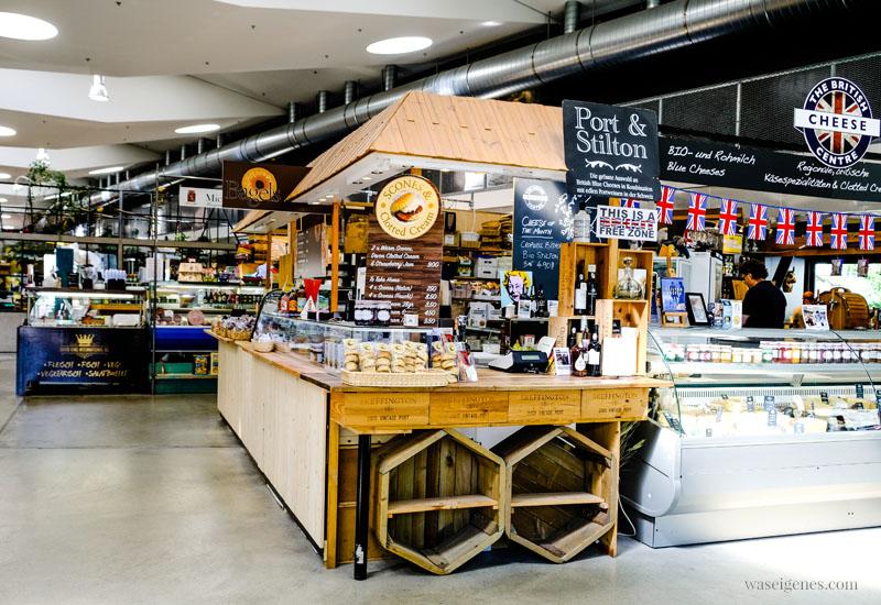 Zürich West: Markthalle Im Viadukt, The British Cheese Centre, waseigenes.com