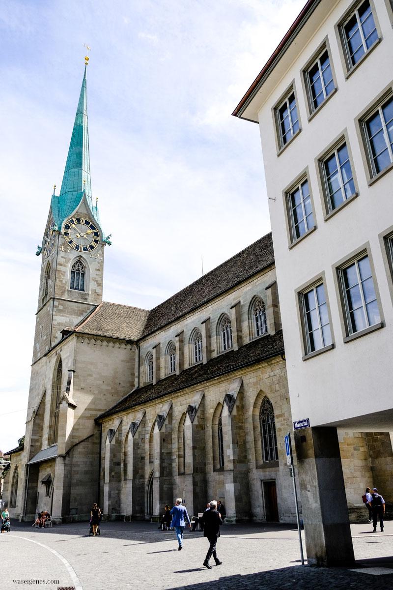 Zürich - Städtetrip: Fraumünster Kirche, waseigenes.com