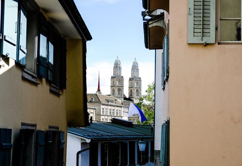 Zürich - Städtetripp, Grossmünster, waseigenes.com