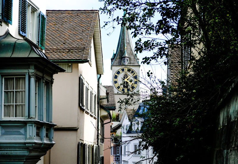 Zürich | Schweiz - Städtereise, St. Peter, waseigenes.com