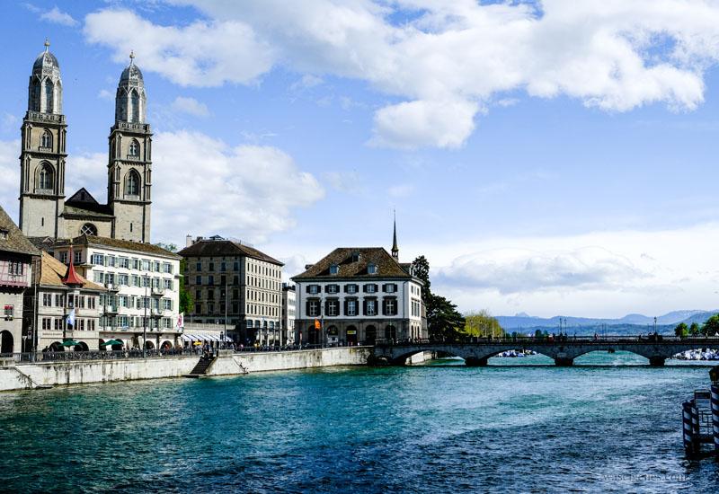 Zürich | Schweiz - Städtereise, Limmat, Zürichsee, Grossmünster, waseigenes.com
