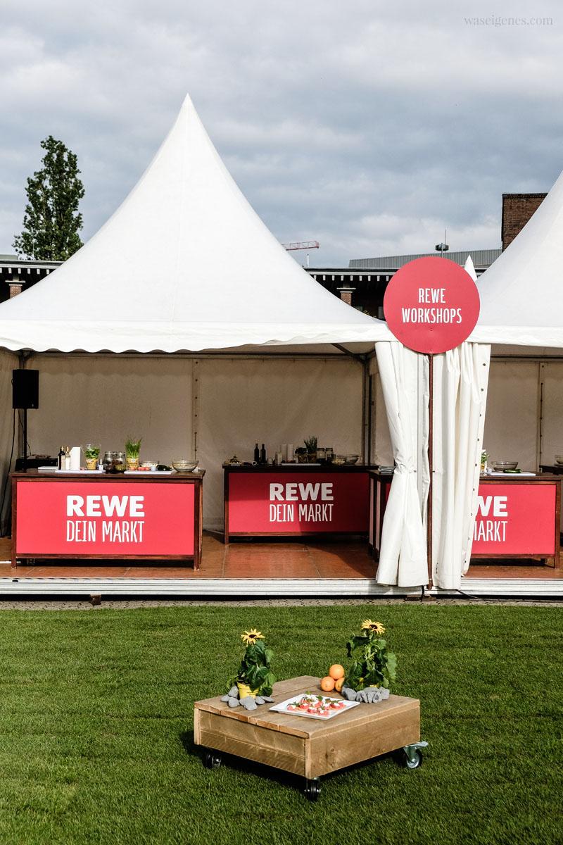 REWE Sommer-Picknick am Kölner Tanzbrunnen, waseigenes.com
