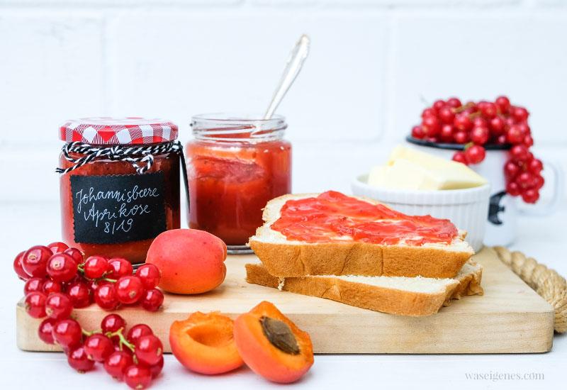 Rezept: Johannisbeer-Aprikosen-Marmelade | waseigenes.com