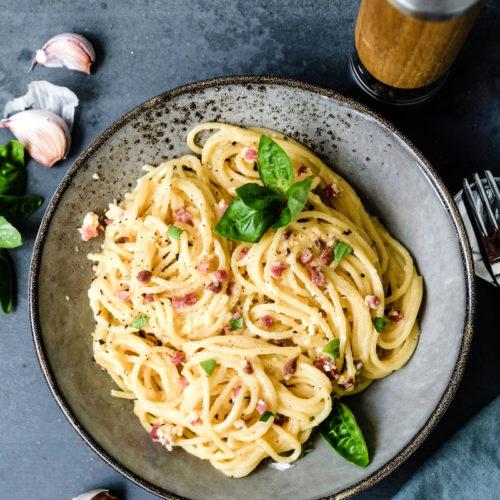 Rezept Spaghetti Carbonara, waseigenes.com
