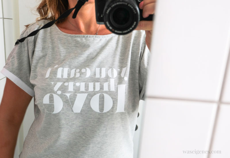 12 von 12 - Mein Tag in Bildern, waseigenes.com | DIY Shirt You can't hurry love