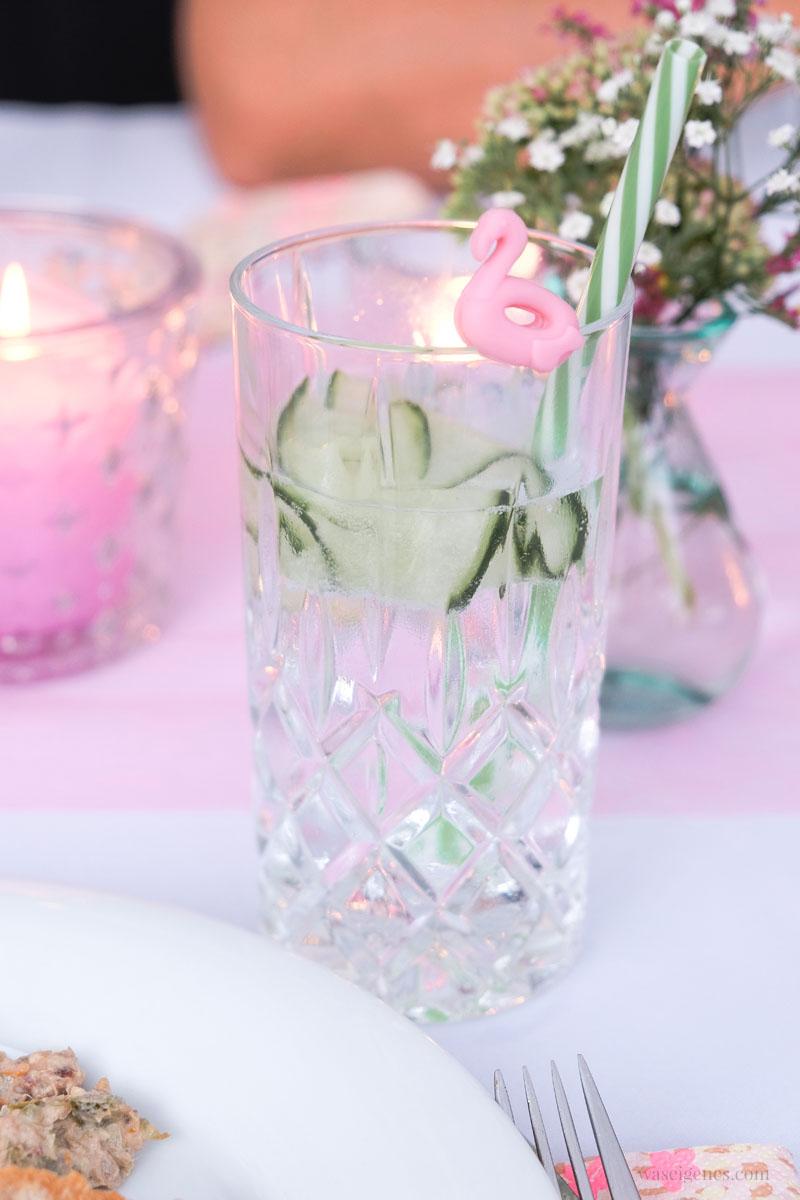 Glasmarker - Gin Tonic mit Gurke, Ferien-Abschlussgrillen | waseigenes.com