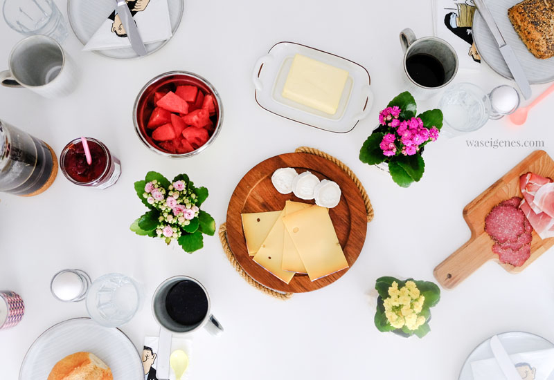 Frühstücktisch mit Kalanchoe | waseigenes.com