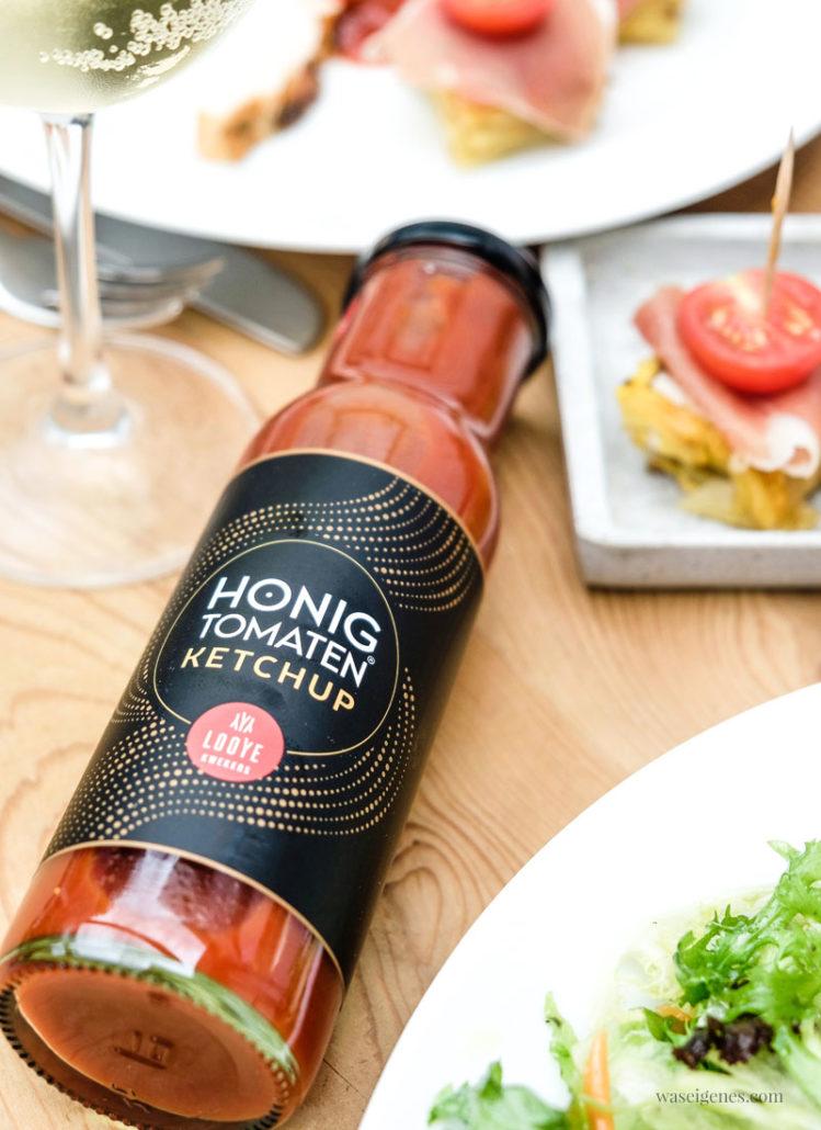 Honigtomaten Ketchup von Looye - ohne Zuckerzusatz, Duft-, Farb- und Geschmacksstoffe, waseigenes.com