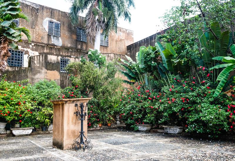Museo de las Casas Reales an der Calle de Las Damas - Santo Domingo, Dominikanische Republik, waseigenes.com