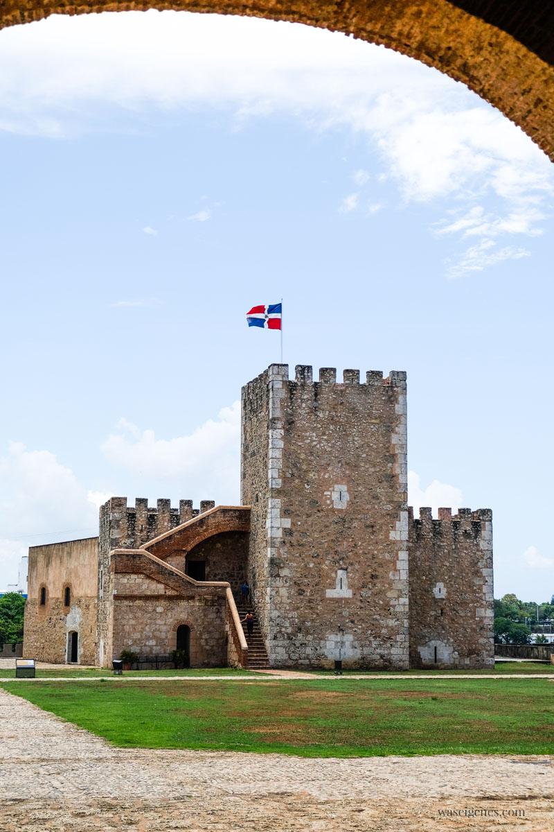 Fortaleza Ozama - Santo Domingo - Hauptstadt der Dominikanischen Republik, waseigenes.com
