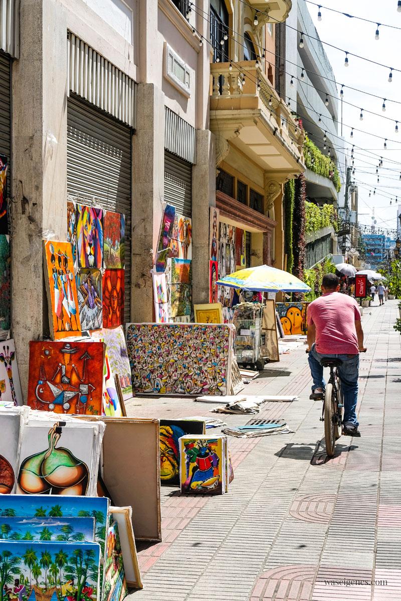 Calle El Conde - Einkaufsstraße in Santo Domingo -  Dominikanischen Republik, waseigenes.com