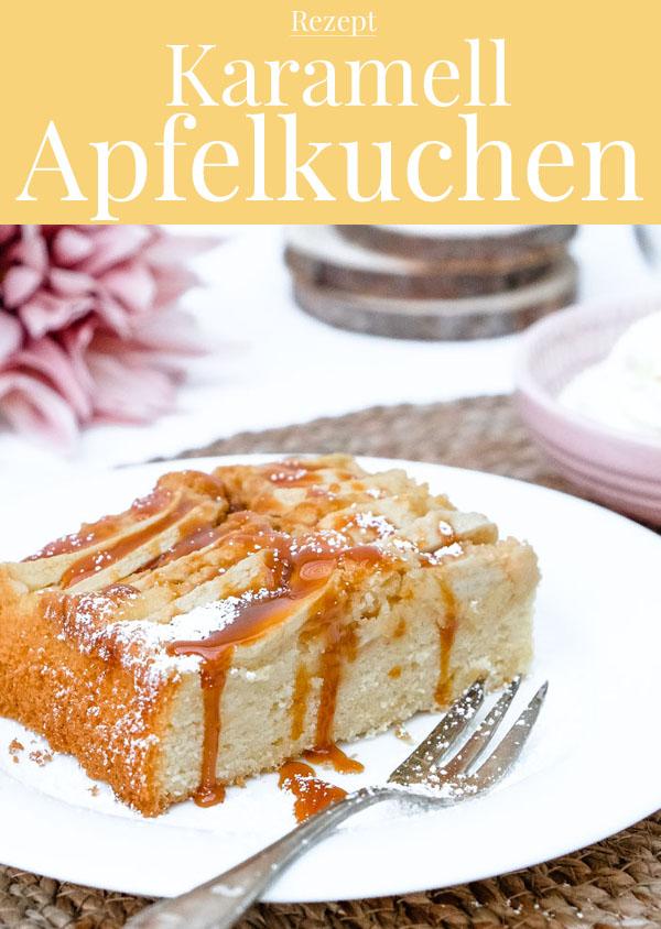 Rezept: Karamell Apfelkuchen - waseigenes.com