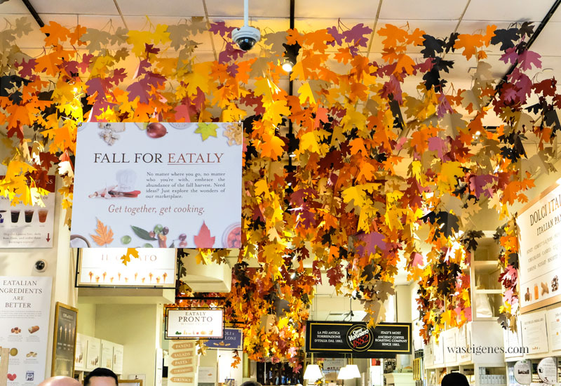 New York City: Eataly im Flatiron District | Italienische Markthalle | Fifth Avenue - Broadway - 23rd Straße |waseigenes.com