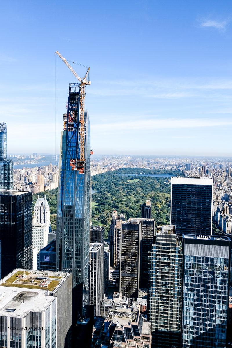 New York von oben - Ausblicke vom Rockefeller Center (Top of the Rocks) und Empire State Building | Städtereise mit Kindern | waseigenes.com