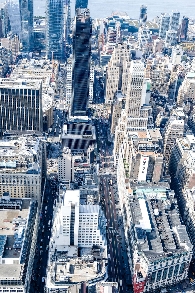 New York von oben - Aussichtsplattform Top of the Rocks (Rockefeller Center) und Empire State Building | waseigenes.com