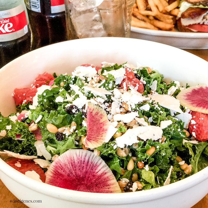 New York: Meatpacking District, Mittagessen im Bubby's - Salat | waseigenes.com
