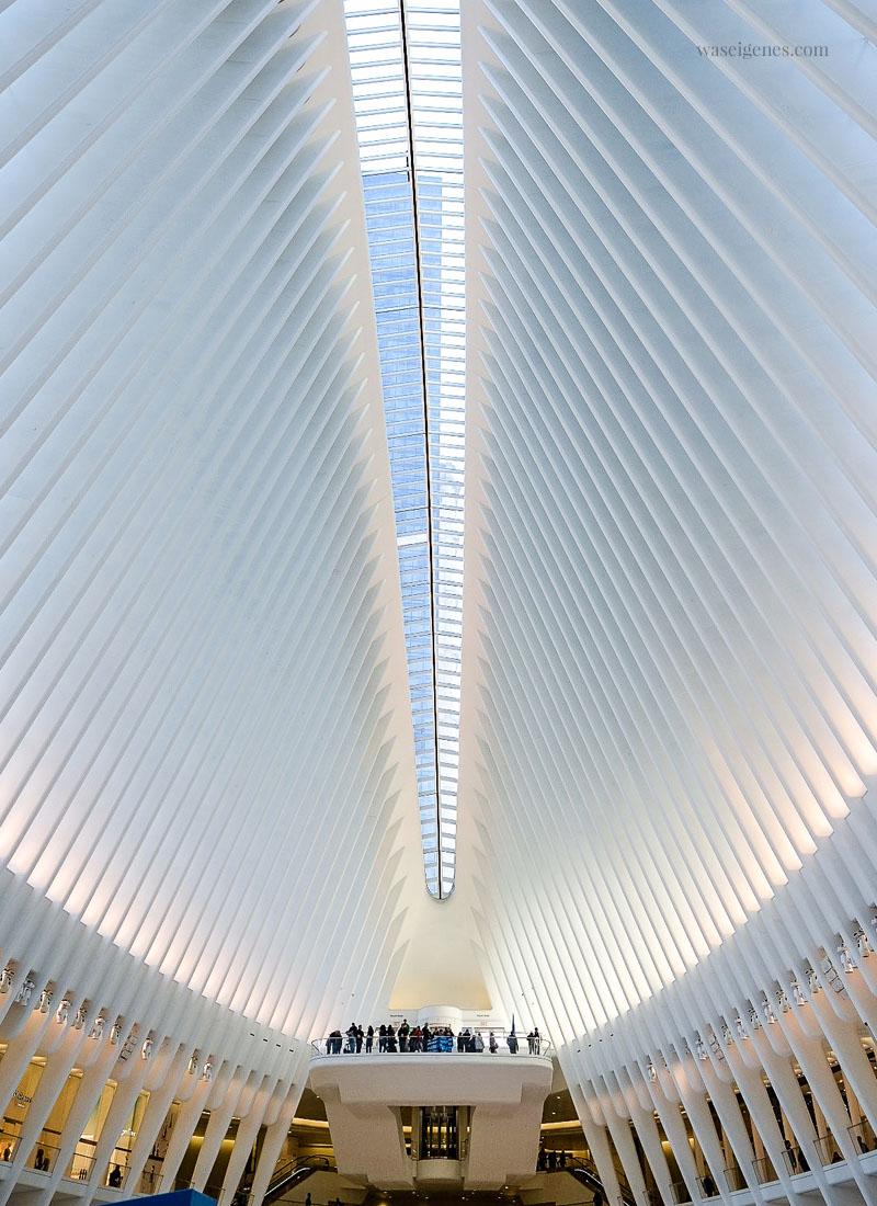 New York: U-Bahn Station World Trade Center / Ground Zero / Oculus | waseigenes.com