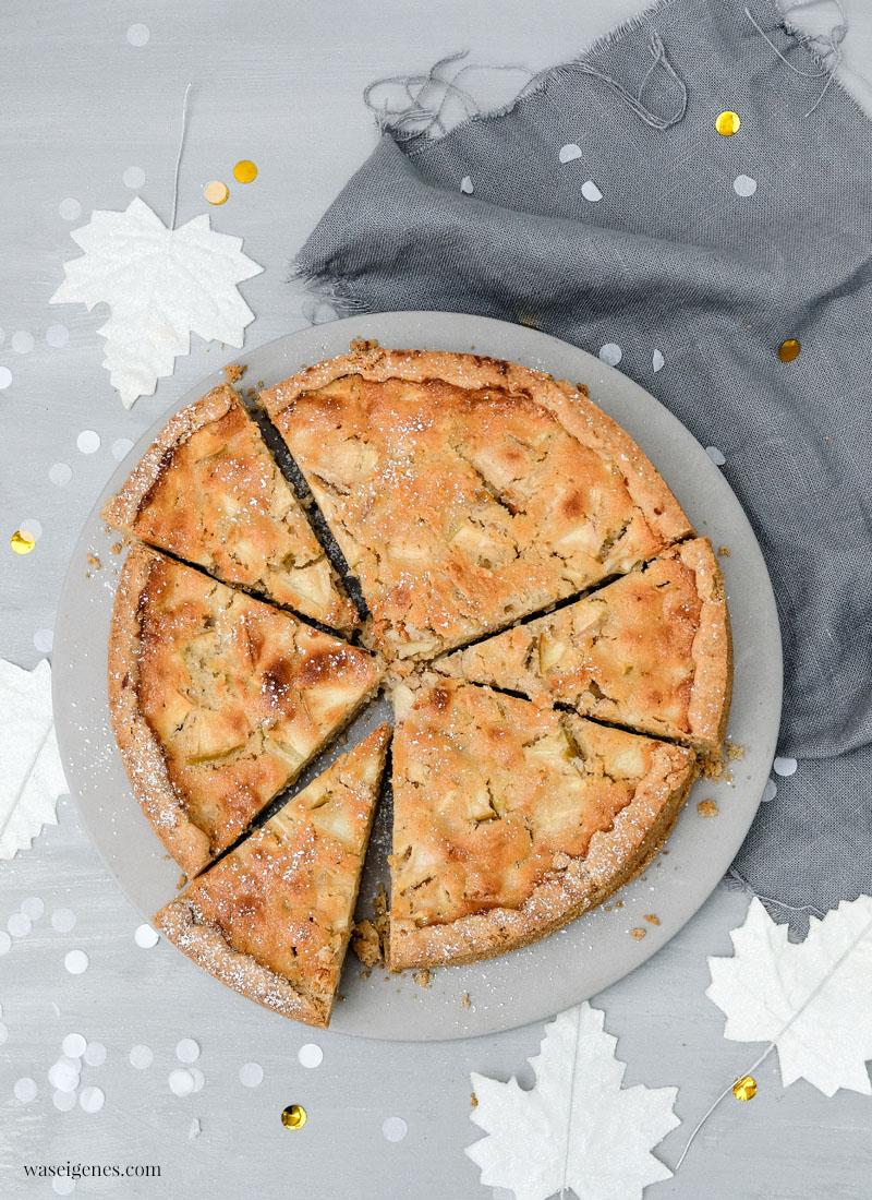 Rezept: Apfel-Marzipan-Kuchen | waseigenes.com