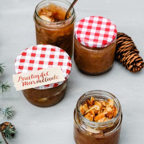 Rezept Bratapfel Marmelade | Bratapfel Brotaufstrich | waseigenes.com