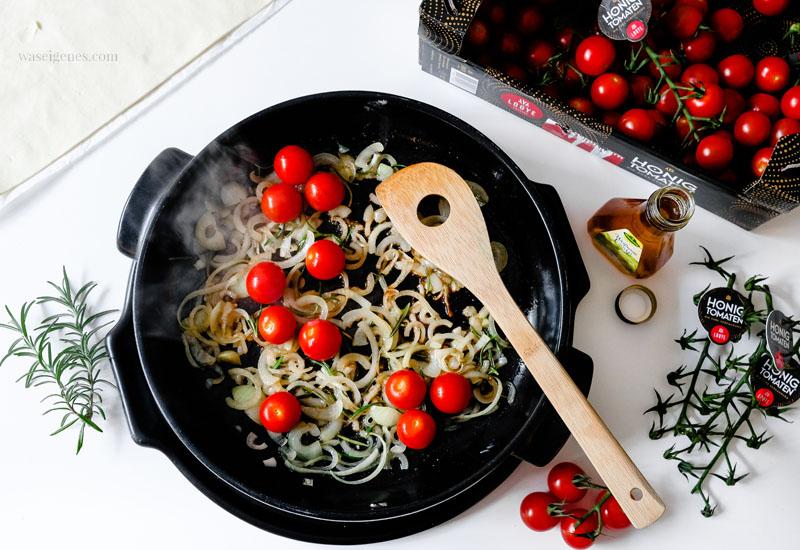 Rezept: Tomaten Tarte - Schritt für Schritt Anleitung  | waseigenes.com