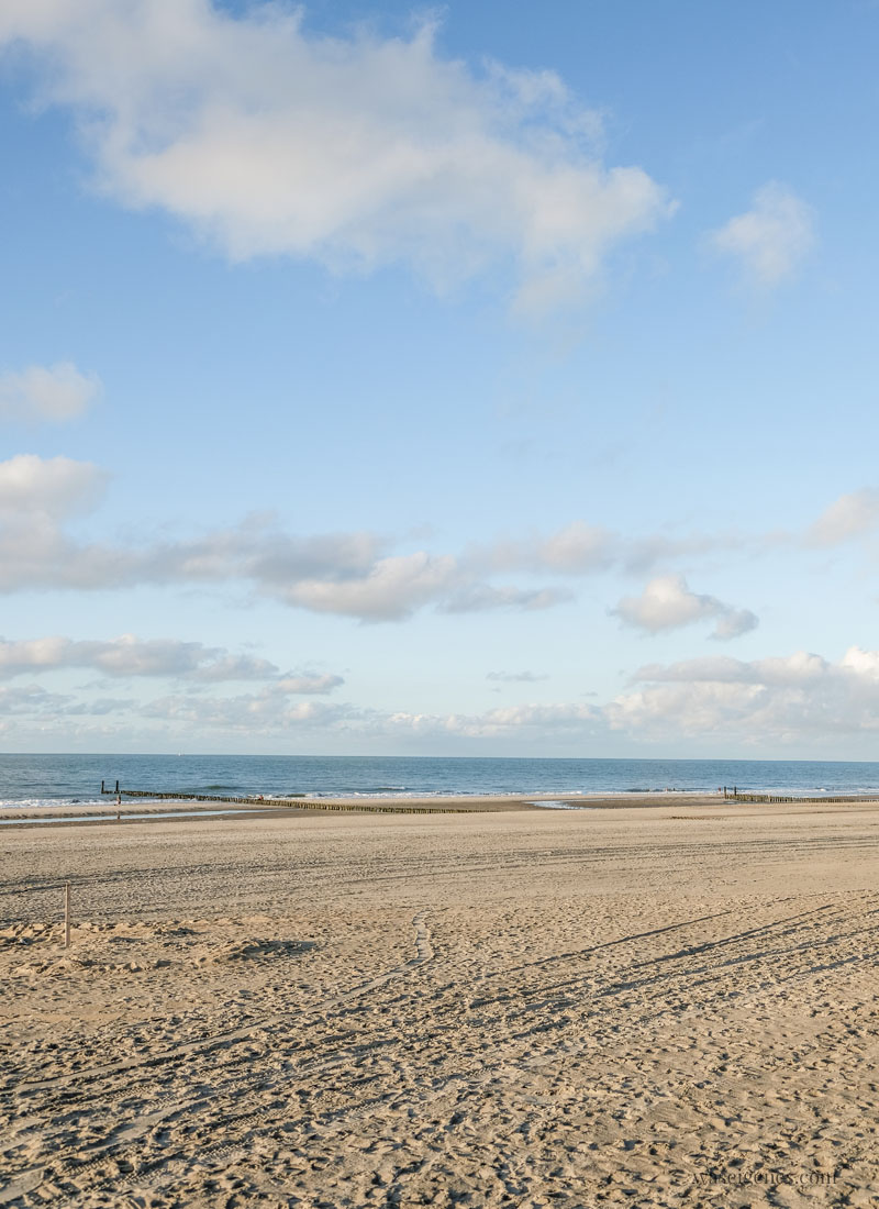Urlaub in Holland - Strand in Domburg, waseigenes.com