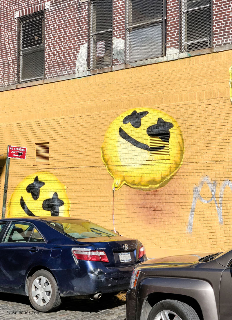 New York: Street Art, Emojis | waseigenes.com